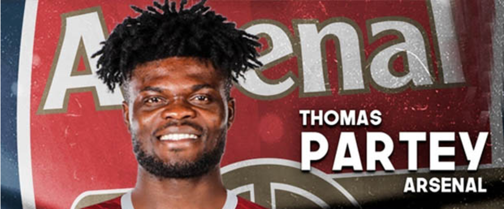 ( Officiel ) Thomas Partey signe in-extremis à Arsenal !