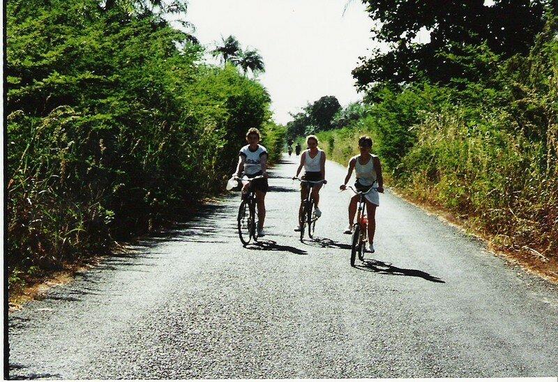 Balade à velo sur les routes de Casamance(1995)