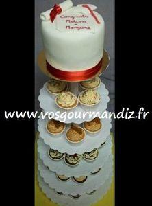 Pièce-montée cupcakes 2 Vos Gourmandiz