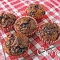 Muffins aux rochers ferrero