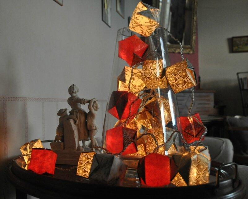 guirlande en origami 2