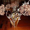 Vase hexagonal