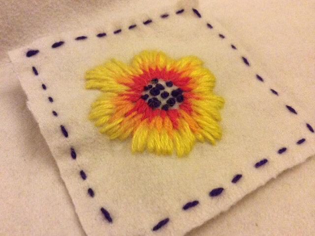 fleur de laine