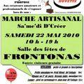 Marché artisanal à frontonas - 22 mai 2010