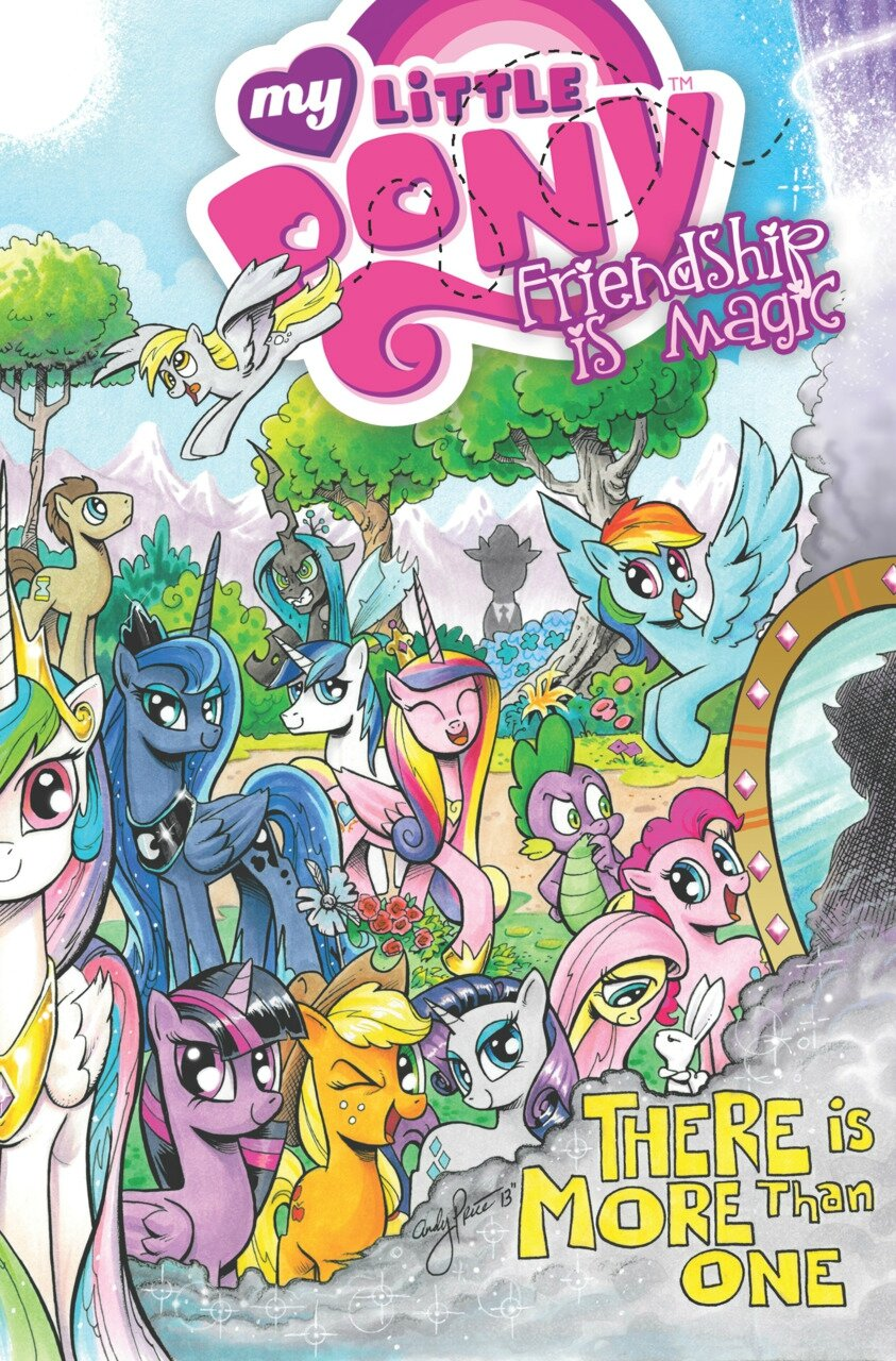 my little pony frienship is magic vol 5 TP