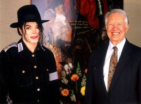 jimmy carter michael jackson (4)