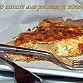 Tarte sarrasin aux poireaux et mimolette