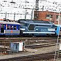 BB 67612 bleue, Toulouse