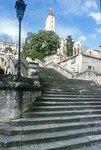Escalier menant à la Statue