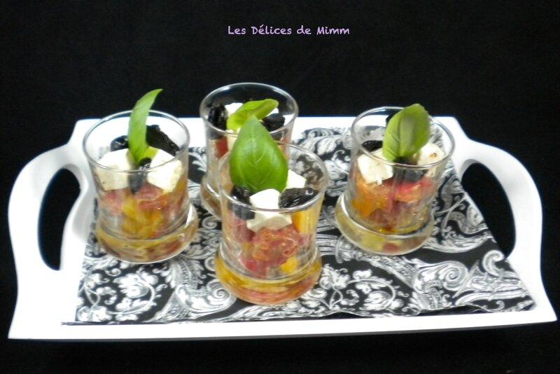 Petites verrines méditerranéennes pour l'apéro 3