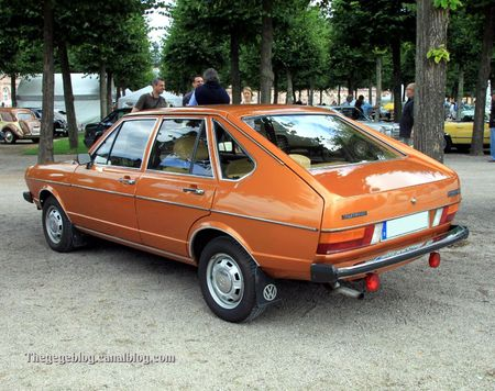 Vw passat GLS automatique (type 32-B1) de 1977 (1975-1980)(9ème Classic Gala de Schwetzingen 2011) 02