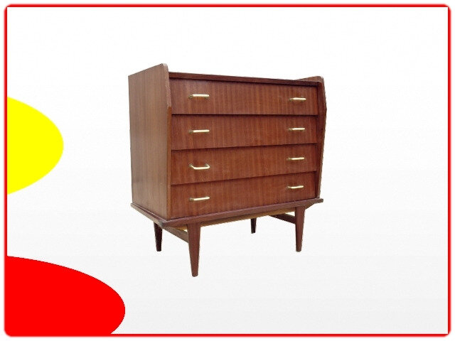 Commode atypique vintage 1960