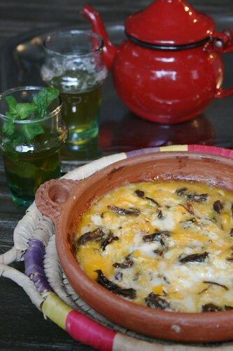 omelette au khlii - cuisine marocaine 1