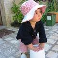 chapeau bord fetonnés réversible