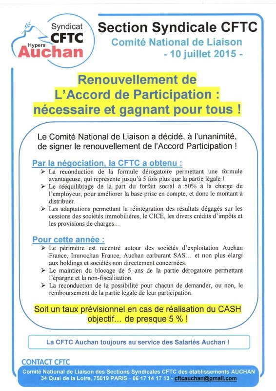 accord participation 10 juillet 2015