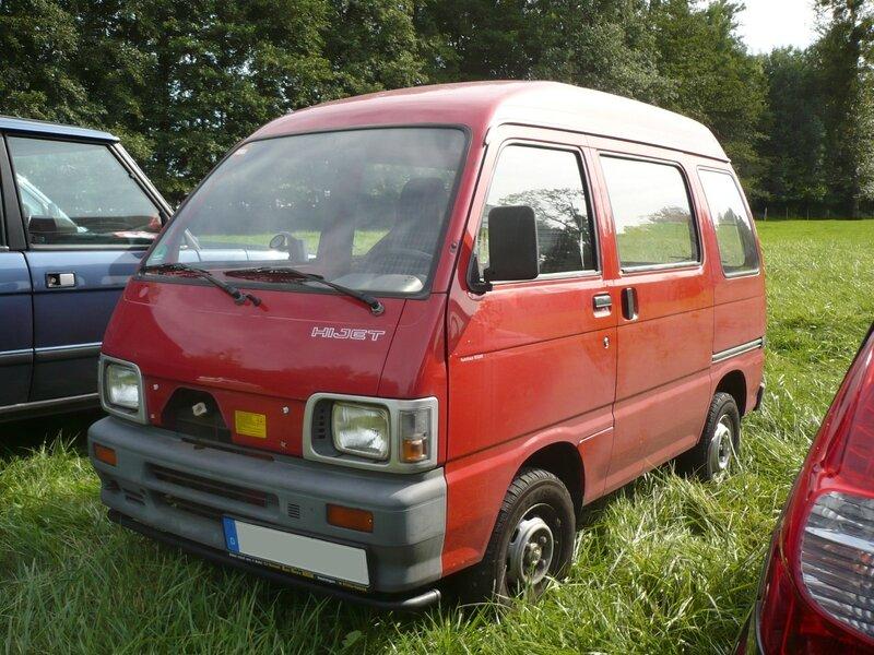 DAIHATSU Hijet microvan Lipsheim (1)