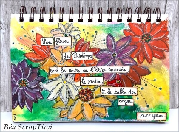 Art Journal Printemps - Mars 2019