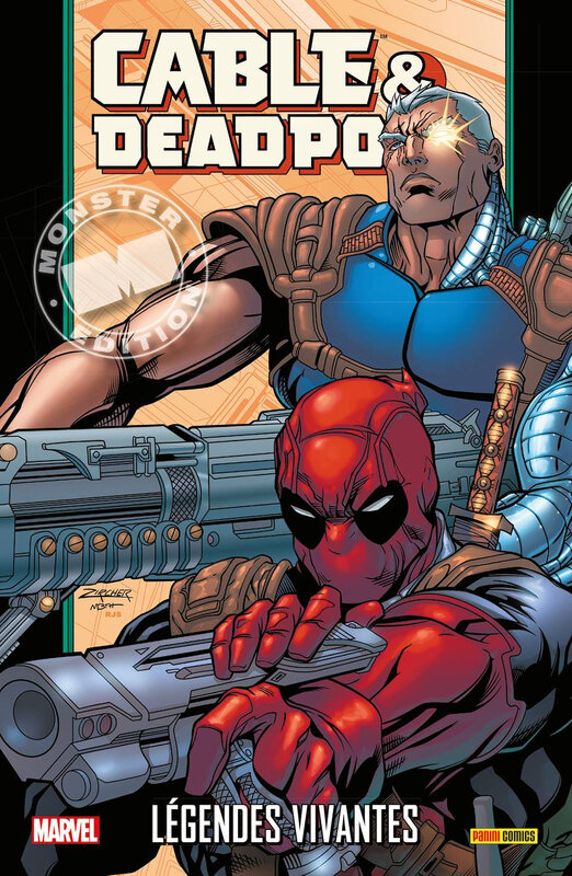 marvel monster cable & deadpool 02 légendes vivantes