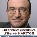 L'interview exclusive d'hervé mariton