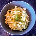 Salade de fenouil au citron
