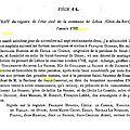 Bonnier François & Julienne Guillemette Lassausse_Mariage 1762