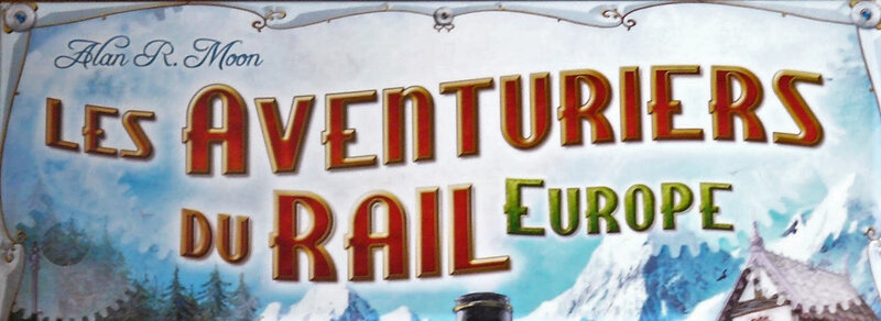 Les Aventuriers du rail : Europe - Days of Wonder (Alan R. Moon)