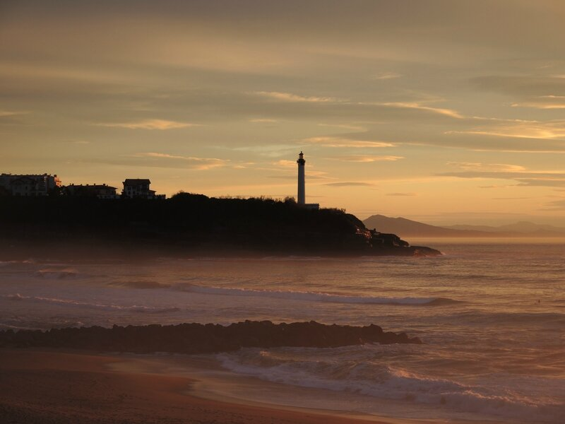 Anglet, Vent d'Ouest, phare de Biarritz, coucher de soleil 1bis, avril 2016 (64)