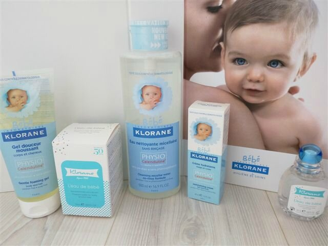 Gamme bébé Klorane ©Kid Friendly