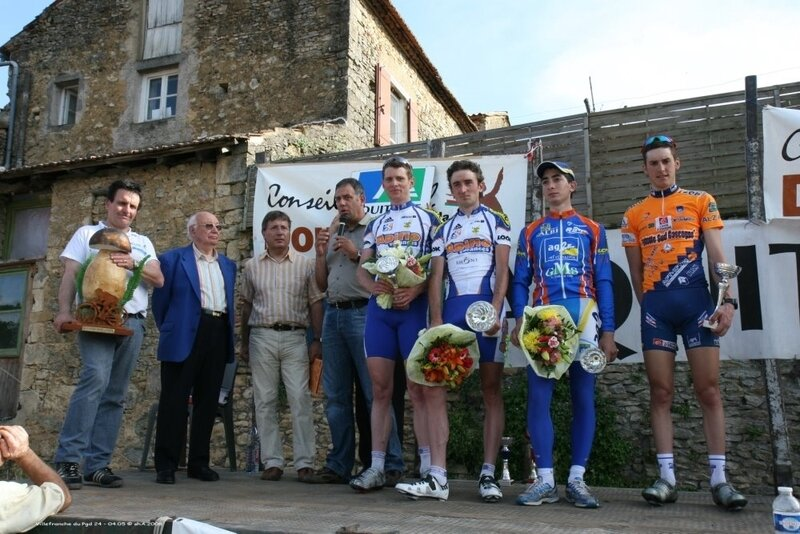 2008 TOUR DU PERIGORD 2008 PODIUM GENERAL