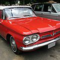 Chevrolet corvair monza convertible 1962