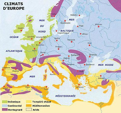 Europe climat