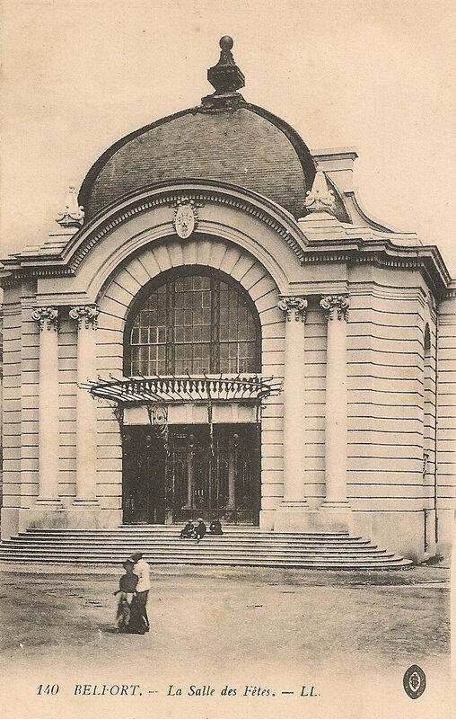 Belfort CPA Place République n°11 Salle des Fêtes 140