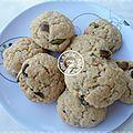 Cookies aux pistaches