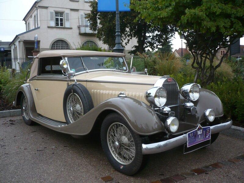 BUGATTI type 57 cabriolet Vanvooren 1935 Molsheim (1)