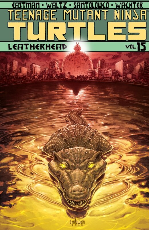IDW teenage mutant ninja turtles vol 15 leatherhead TP