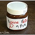 Nutella croustillant pour papa gourmand