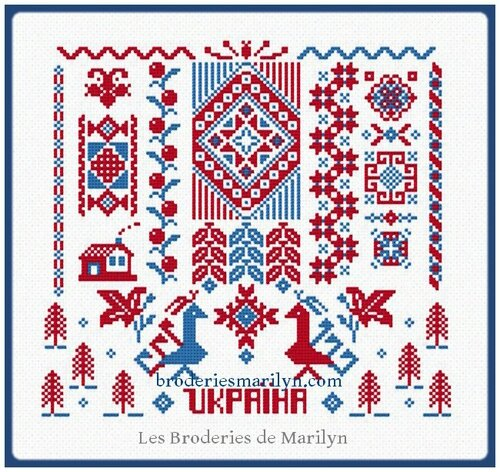 Sampler Ukrainien image blog FB