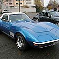 Chevrolet corvette c3 stingray roadster 1970-1972