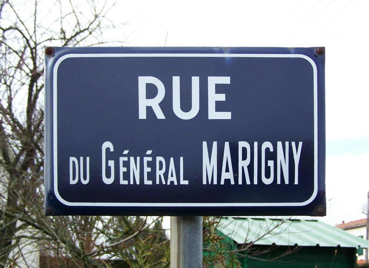Combrand (79), rue du Général Marigny