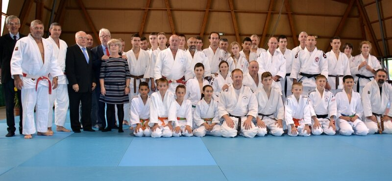 JUDO STAGE SERGE FEIST 2015 6e DAN PHILIPPE THOMAS groupe face