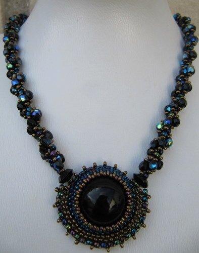 Collier onyx et spiral rope - vendu