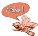 A table !!