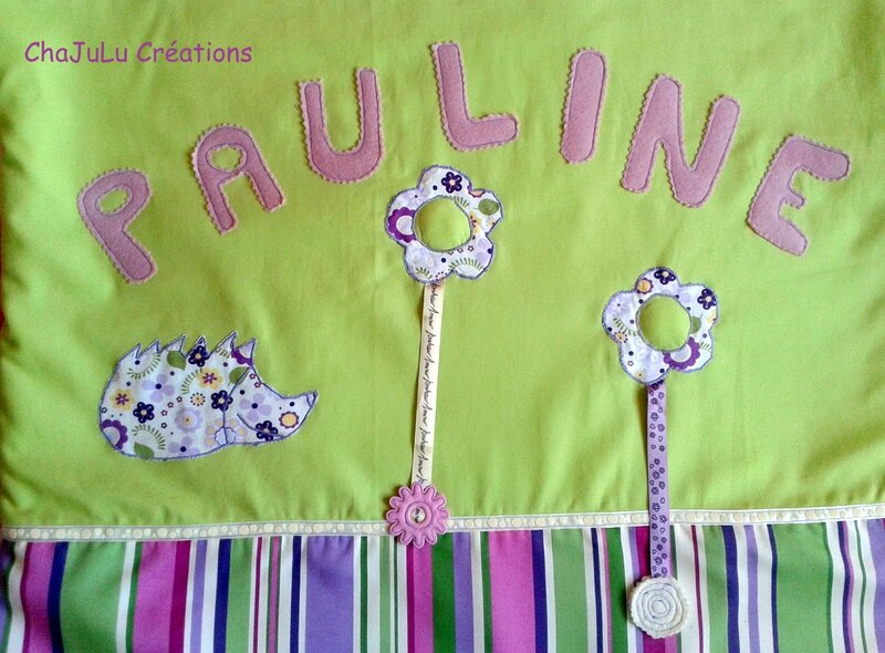 Couverture Pauline détails prénom