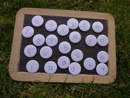 Brodi Broda-cadeau fille garçon-bébé-enfants-accessoire-aimants-magnets alphabet-enfant-prénom-