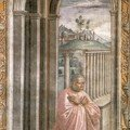 FLORENCE / SANTA MARIA NOVELLA - chapelle TORNABUONI
