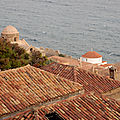 Monemvasia, les toits 071116 1