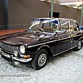 Simca 1301 berline de 1969 (Cité de l'Automobile Collection Schlumpf à Mulhouse) 01