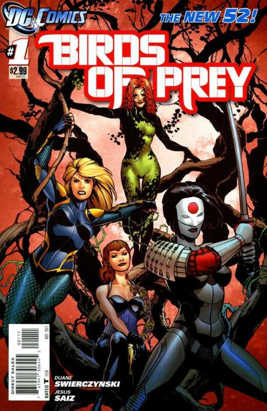 new 52 birds of prey 01