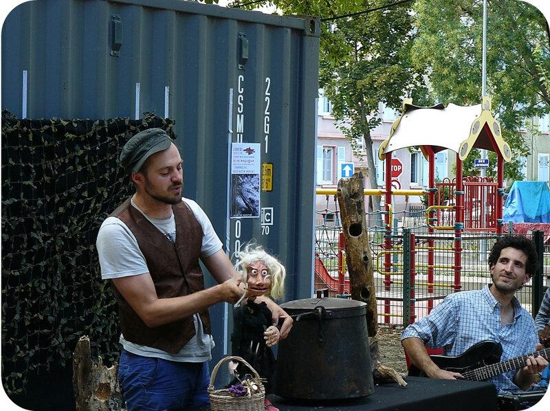 Quartier Drouot - Spectacle de marionnettes 08