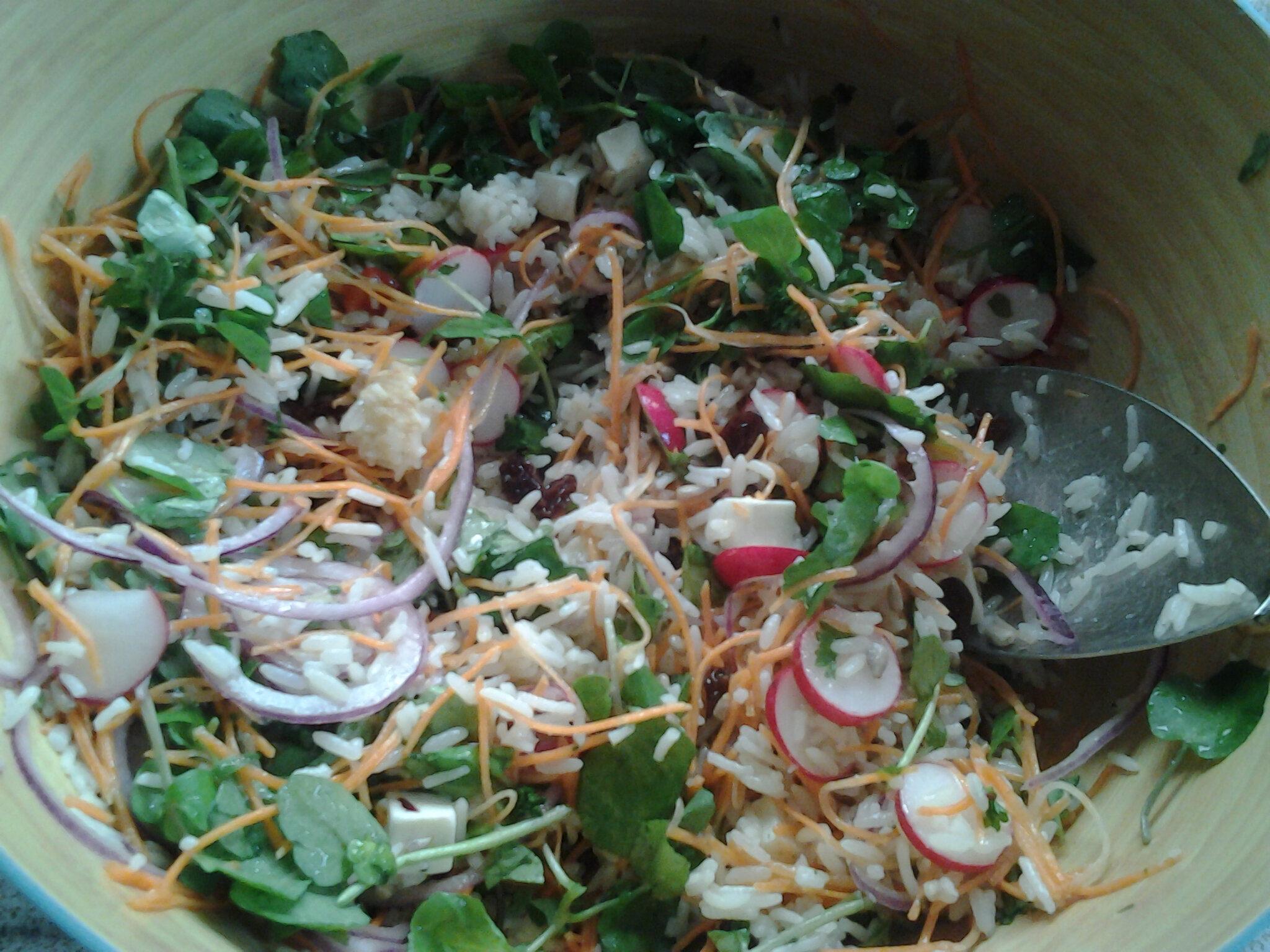 Salade de riz à la féta